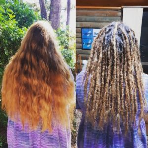 Sunshine Coast Dreadlocks installation
